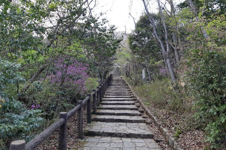 成井登山道